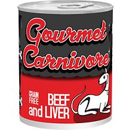 Tiki Dog Gourmet Carnivore Beef & Liver Grain-Free Canned Dog Food, 12-oz, case of 12