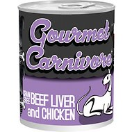 Tiki Dog Gourmet Carnivore Beef Liver & Chicken Grain-Free Canned Dog Food, 12-oz, case of 12