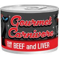 Tiki Cat Gourmet Carnivore Beef & Liver Grain-Free Canned Cat Food, 6-oz, case of 8