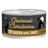 Tiki Cat Gourmet Carnivore Chicken with Turkey Canned Cat Food, 2.8-oz, case of 12