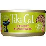 Tiki Cat Kapi'Olani Luau Tilapia in Tilapia Consomme Canned Cat Food, 2.8-oz, case of 12