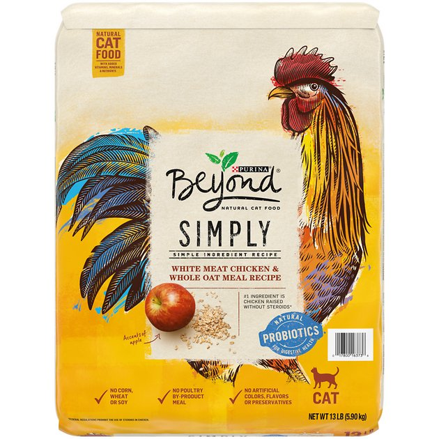Purina beyond white meat chicken whole oat meal recipe for Purina tropical fish food