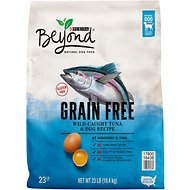 Purina Beyond Adventure Grain-Free Tuna & Egg Recipe Dry Dog Food, 23-lb bag