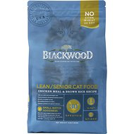 Blackwood Chicken Meal & Rice Recipe Lean Dry Cat Food, 4-lb bag