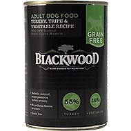 Blackwood Turkey, Tripe & Vegetable Recipe Grain-Free Adult Canned Dog Food, 13.75-oz, case of 12