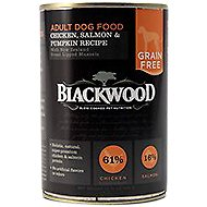 Blackwood Chicken, Salmon & Pumpkin Recipe Grain-Free Adult Canned Dog Food, 13.75-oz, case of 12