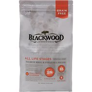 Blackwood Salmon Meal & Field Pea Recipe Grain-Free Dry Dog Food, 5-lb bag