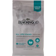 Blackwood Chicken Meal & Field Pea Recipe Grain-Free Dry Dog Food, 30-lb bag