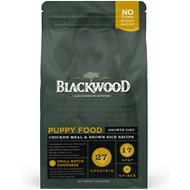 Blackwood Chicken Meal & Rice Recipe Puppy Growth Diet Dry Dog Food, 15-lb bag