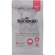Blackwood Buffalo Meal & Field Pea Recipe Grain-Free Dry Dog Food, 5-lb bag