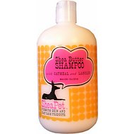 SheaPet Organic Shea Butter Shampoo with Oatmeal & Awapuhi Extract, 18-oz bottle