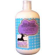 SheaPet Organic Shea Butter Conditioner with Panthenol & Tea Tree, 18-oz bottle