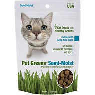 Bellrock Growers Pet Greens Deep Sea Tuna Semi-Moist Cat Treats, 3-oz bag