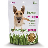 Bellrock Growers Pet Greens Lamb & Chicken Recipe Jerky Grain-Free Dog Treats, 4-oz bag