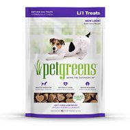 Bellrock Growers Pet Greens Tasty Lamb Semi-Moist Li'l Dog Treats, 6-oz bag