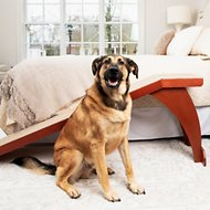 Solvit Wood Bedside Ramp for Dogs & Cats