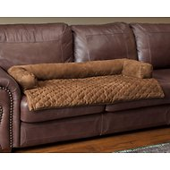 Solvit Bolstered Sta-Put Seat Protector for Pets, Cocoa, Large