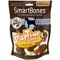 SmartBones Medium PlayTime Peanut Butter Chews Dog Treats