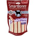 SmartBones Small DoubleTime Chicken Rolls Dog Treats