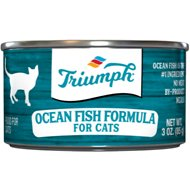Triumph Ocean Fish Formula Canned Cat Food, 3-oz, case of 24