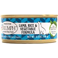 Triumph Lamb, Rice 'N Vegetable Formula Canned Dog Food, 5.5-oz, case of 24