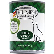 Triumph Turkey Formula Canned Dog Food, 13.2-oz, case of 12