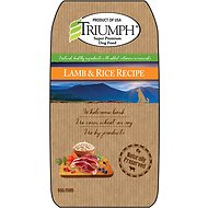 Triumph Lamb & Rice Recipe Dry Dog Food, 3.3-lb bag