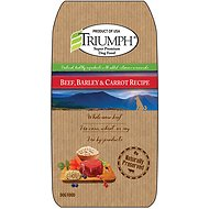 Triumph Beef, Barley & Carrot Recipe Dry Dog Food, 30-lb bag