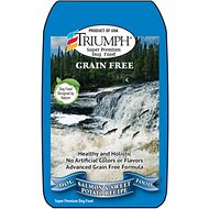 Triumph Grain-Free Salmon & Sweet Potato Recipe Dry Dog Food, 28-lb bag