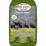 Triumph Grain-Free Turkey, Pea & Sweet Potato Recipe Dry Dog Food, 28-lb bag