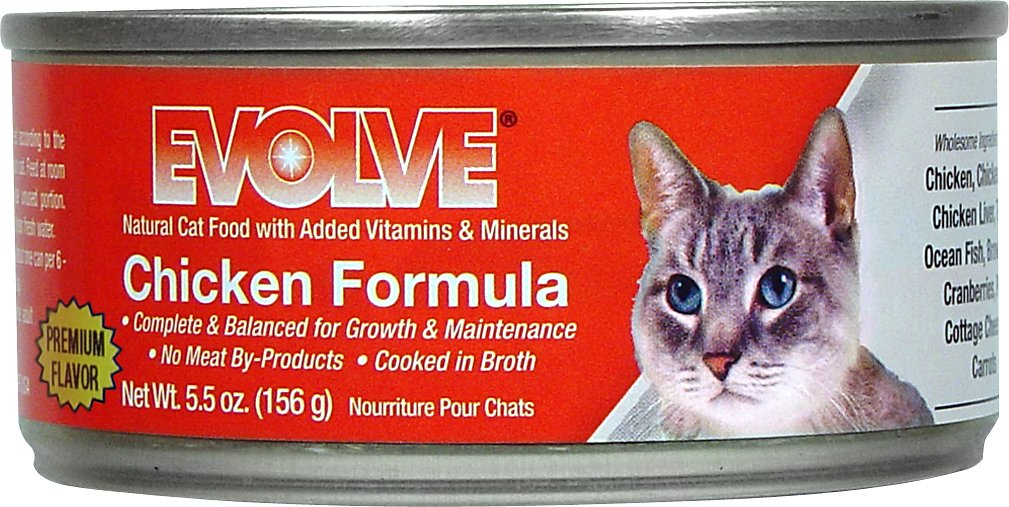 Evolve Canned Cat Food
