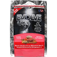 Evolve Beef, Barley & Brown Rice Maintenance Formula Dry Dog Food, 30-lb bag