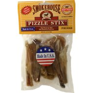 "Smokehouse USA 2-3"" Pizzle Stix Dog Treats, 10 pack"