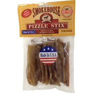 "Smokehouse USA 3-4"" Pizzle Stix Dog Treats, 8 pack"