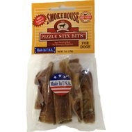 Smokehouse USA Pizzle Stix Bits Dog Treats, 1-oz bag