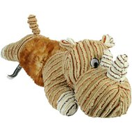 Hyper Pet Cozy Bellyz Dog Toy, Rhino