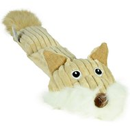 Hyper Pet Cozy Critter Skinz Dog Toy, Fox, 2 Squeaker