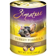 Zignature Turkey Limited Ingredient Formula Canned Dog Food, 13-oz, case of 12