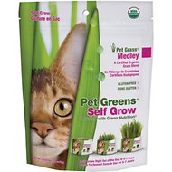 Bellrock Growers Pet Greens Self Grow Medley Pet Grass, 3-oz bag