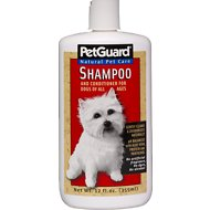 PetGuard Dog Shampoo & Conditioner, 12-oz bottle