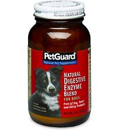 PetGuard Natural Digestive Enzyme Blend Dog Supplement, 4-oz jar