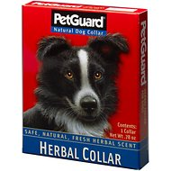 PetGuard Herbal Dog Collar, 22-in