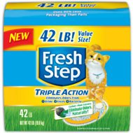 Fresh Step Triple Action Scented Cat Litter, 42-lb bag