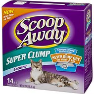 Scoop Away Super Clump Scented Cat Litter, 14-lb box