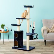 MidWest Feline Nuvo Playhouse 61.5-inch Cat Tree