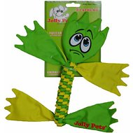 Jolly Pets Flatheads Dog Toy, Color Varies, Medium