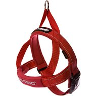 EzyDog Quick Fit Dog Harness, Red, Small