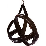 EzyDog Quick Fit Dog Harness, Black, Large