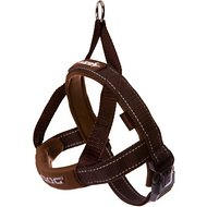 EzyDog Quick Fit Dog Harness, Chocolate, Large