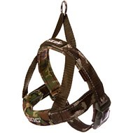 EzyDog Quick Fit Dog Harness, Green Camo, Large
